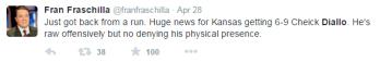 Diallo worst tweet